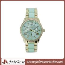 Мода изысканные часы сплав женские часы