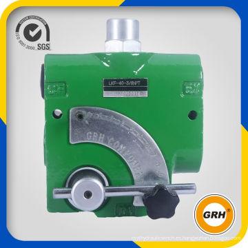 Válvula de control de flujo hidráulica de hierro fundido de 3 / 8NPT 100L / Min
