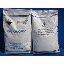 2016 Haute qualité du chlorure de zinc 98% de la qualité de la batterie