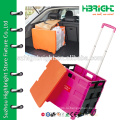 Корзина для покупок на колесах (емкость 35 кг)