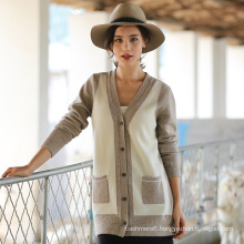 2017 New Style Women′s Cashmere Cardigan Clothing