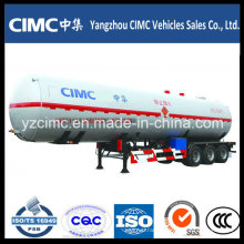 High Quality Cimc 58m3 LPG Tank Trailer