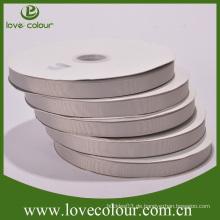 Kundenspezifisches neues graues Band, Grosgrainband für Verkauf