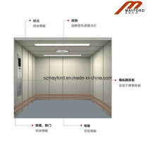 Machine Roomless Freight Elevator with Painted Plate