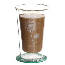 Hot Sale Handle Clear Glass Mugs
