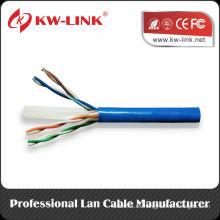 Prueba Fluke de la marca OEM 23AWG UTP CCA / Cobre Cat6 Cable de red sólido