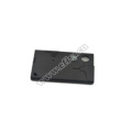 Portable stainless steel credit card knife for outdoor equipment