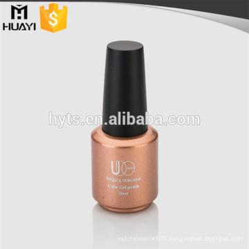 15ml luxury hotsale gel nail polish bottle