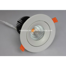 25W Dimmable 220V 100-240V CREE COB LED Empotrable Downlight