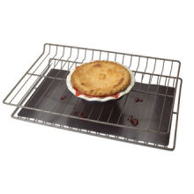 Universal Oven Base Liner ,400*500mm ; Made From PTFE Coated Non Stick Fabric