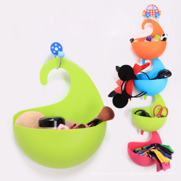 0608 Boîte à crochets en plastique Boîte à fruits Boîte à colorier Boîte à fruits