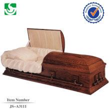 fabricant chinois vendu cramoisis cercueils en gros à vendre
