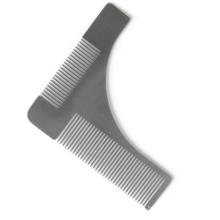FQ Brand men 's barbe modèle de peigne outil de peigne en acier inoxydable barbe en métal