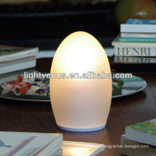 14*14*H17cm rechargeable egg lamp