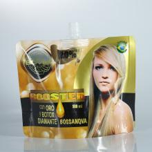 Sachet stand-up 1L de teinture pour les cheveux en feuille d'aluminium imprimée