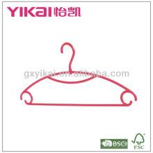 PP cabides de plástico para a camisa