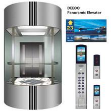 Elevador Deeoo Outdoor Residential Glass Panoramic Lift