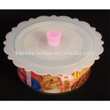 BPA Free Capa de Tampa de Silicone mais vendida Capa de Tampa de Selo de Sucção