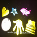 Cheap promotional christmas safety light reflector for walking
