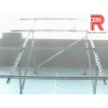 Profils d'extrusion en aluminium / aluminium pour panneau solaire