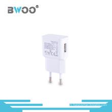 Portable EU Us Plugs Single USB Travel Charger