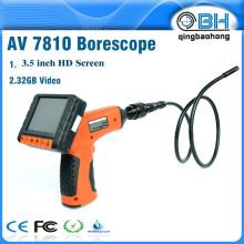 AV7810 micro cámara serpiente para cámara de inspección con 4 luces LED