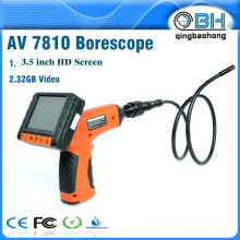 Full Function 3.5 Inch 720P HD Wireless Inspection Camera With 3.5 Inch Detachable LCD Color DVR Monitor