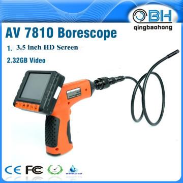 AV7810 micro caméra de serpent pour caméra d'inspection avec 4 LED de lumière