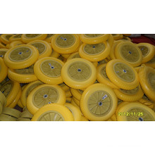 PU Foam Wheels with Metal or Plastic Rim 300/325-8 for Trolley, Wheelbarrow, Popular in America and Europe