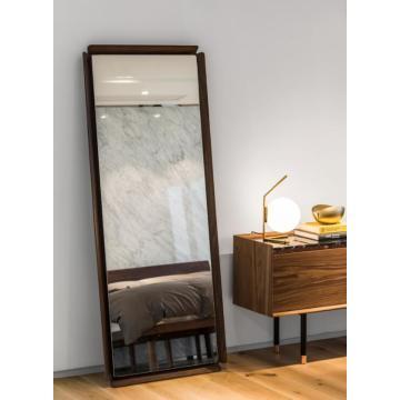 Wood Mirror Bedroom Furniture Hotel Furniture