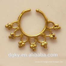 Fashion surgical steel septum piercing fake septum jewelry