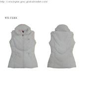 women\'s white down vest for winter