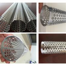 Спиральная сварная перфорированная труба из нержавеющей стали 316