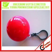 Лучший логотип Продажа печать одноразовых плащи мяч