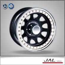 Black Finish Golden Beadlock 4x4 Wheels Rims Chrome Wheels