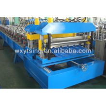 YTSING-YD-0494 pasó el CE y la autentificación de ISO Azulejo tejado laminado en frío que forma la maquinaria