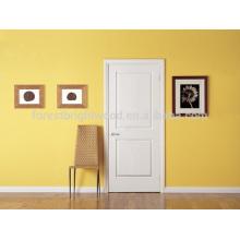 2 Panel Weiß Primer MDF Türen