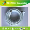 Câble coaxial de cuivre d'enroulement à faible perte de fabrication de câble de Linan 18 AWG