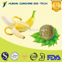 поставщик alibaba Китай 100% естественная банан порошок в качестве сырья для напитка