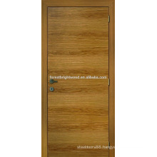 Natrual oak veneered flush door design for house