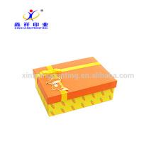 Couleur adaptée aux besoins du client! Boîtes décoratives en gros d'emballage de papier de boîte de rangement de carton