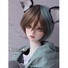 Peluca de pelo de niño BJD [572] para muñeca articulada SD / MSD / YSD