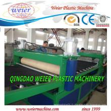 Production élevée de feuille de plastique PE faisant la machine d'extrudeuse