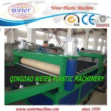 Alta produção de máquina extrusora de folha de plástico PE