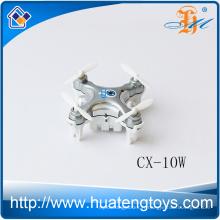 Le plus récent Cheanne CX-10W mini drone 2.4G nano drone cx10 quad cx-10 quadcopter rc mini drone avec caméra à vendre