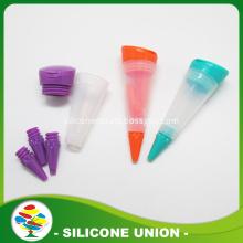 Three Tips Silicone Cake Decorating Milking Pen