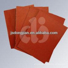 Fibre de verre résistant à la chaleur plaque de cuisson en silicone 0.13mm