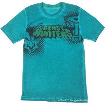 Roupa nova do menino do verão do estilo, menino em volta do t-shirt