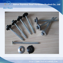 Galvanized Roofing Nails with Rubber Washer