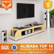 Sumeng mode style fait main meubles d'hôtel utilisé pvc tv stand